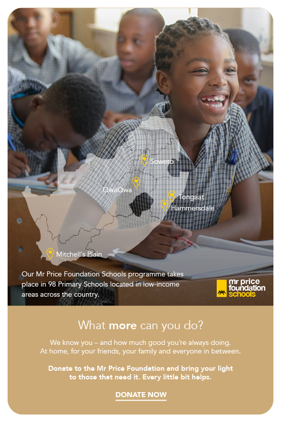 Join us in developing the lifes of needy children in South Africa.